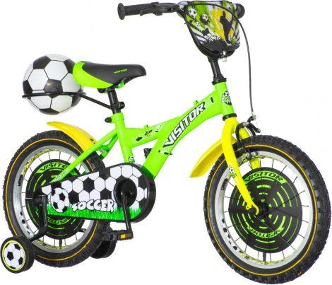 KPC Soccer 16 focis gyerek kerékpár