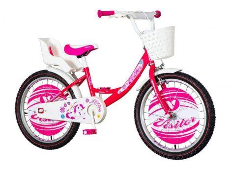 KPC Pony 20 pónis rózsaszín gyerek kerékpár