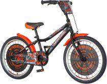 KPC Off-Road 20 quados gyerek kerékpár Fekete