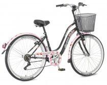 Explorer Cherry Blossom városi kerékpár Fekete