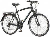 Scout Terra Man trekking kerékpár Fekete