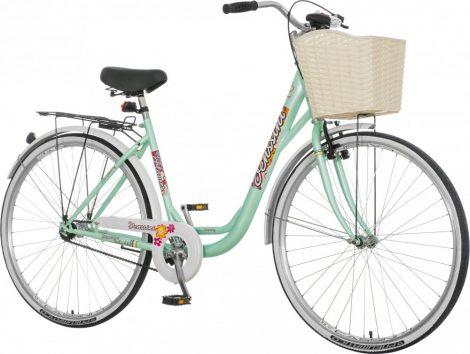 Venssini Diamante 28 világoskék női városi kerékpár