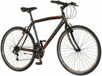 Explorer Quest férfi crosstrekking kerékpár Fekete