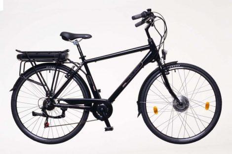 Neuzer E-Trekking férfi Zagon fekete/bronz/kék BAFANG motor