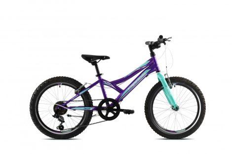"""Capriolo Diavolo 200 20"""" gyerek kerékpár Lila 2020"""