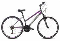 "Capriolo Sunrise Lady női crosstrekking kerékpár 19"" Grafit"